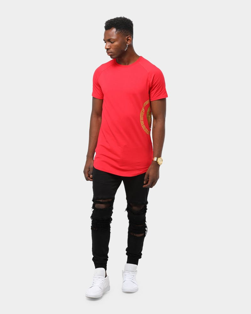 Last Kings Men's King Tut Set SS Tee Red