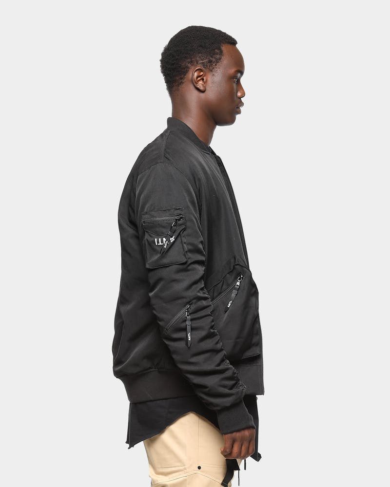 Unisex The Anti Order Sub-Terra Bomber Jacket Black