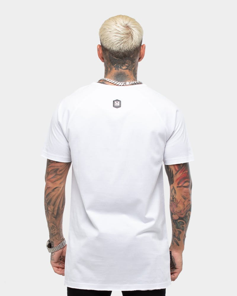 Saint Morta Men's S3 Raglan Tee White