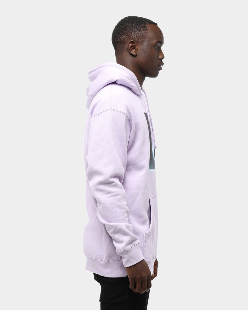 Men's Pink Dolphin Ghost Hoodie Purple