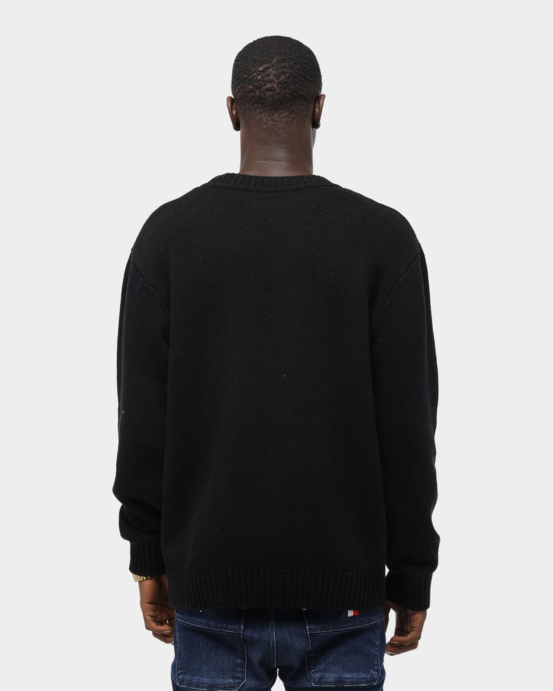 Thing Thing Men's Wool Hall Sweater Black