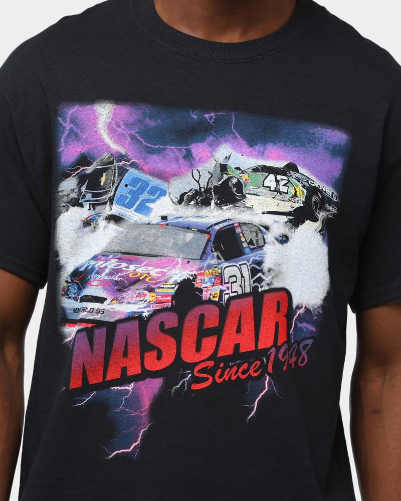 American Thrift Men's Nascar Since 1948 Tee Washed Black