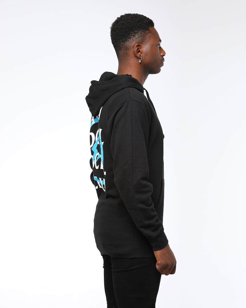 Anti Social Social x Fragment Club Men's Bolt Hoodie Blue