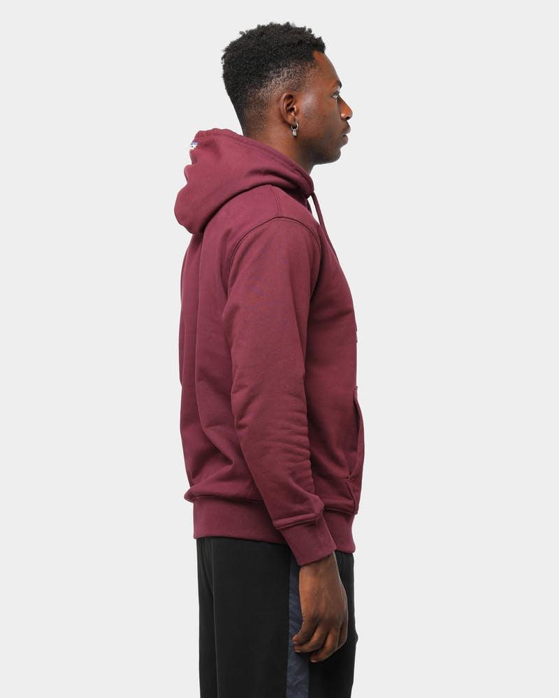 Palace Men's Basically A Hoodie Burgundy