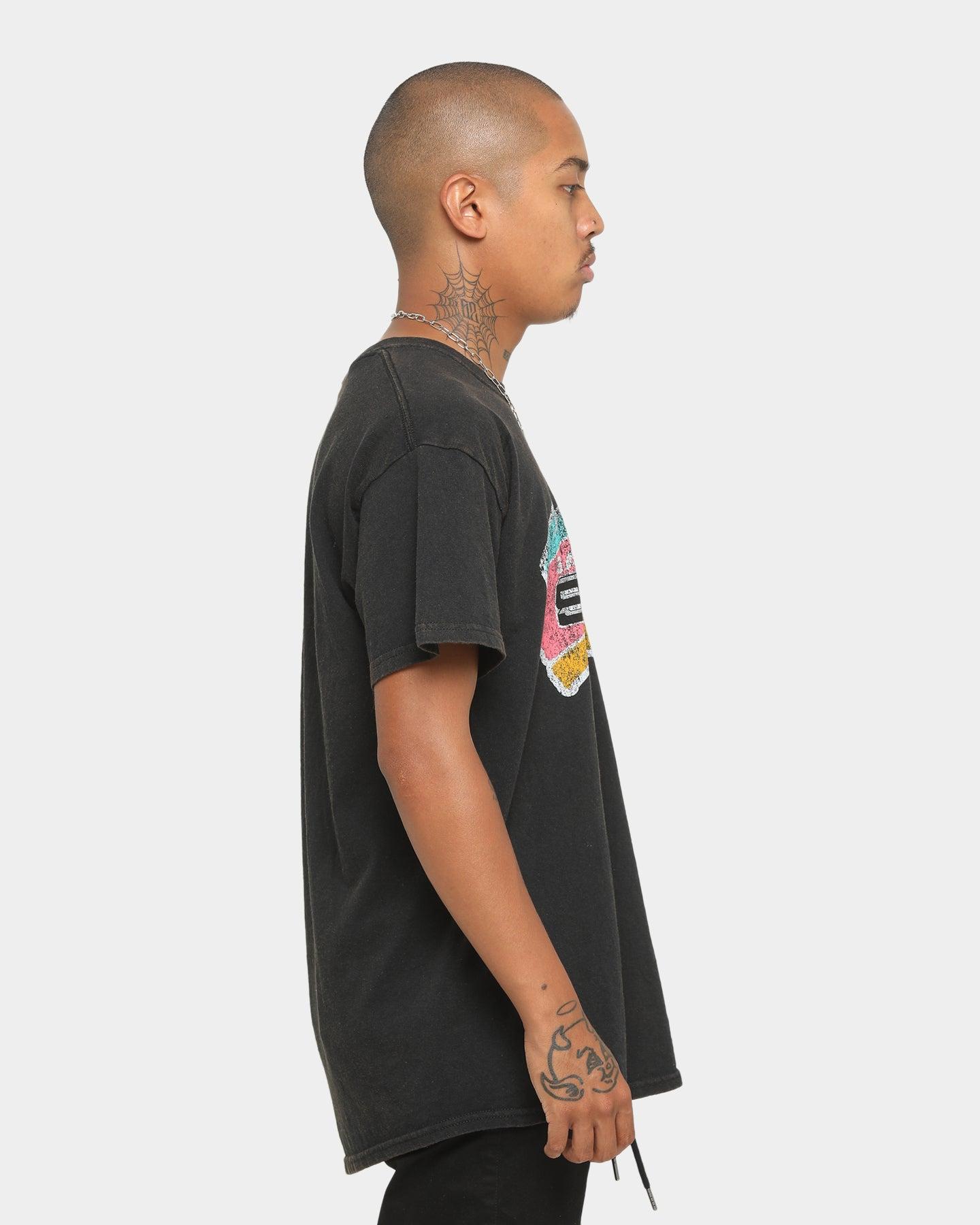 Mitchell /& Ness San Antonio Spurs T-Shirt Noir Homme Team Logo Traditional