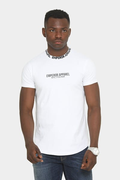 Emperor Apparel Faded After Dark Short Sleeve T-Shirt White