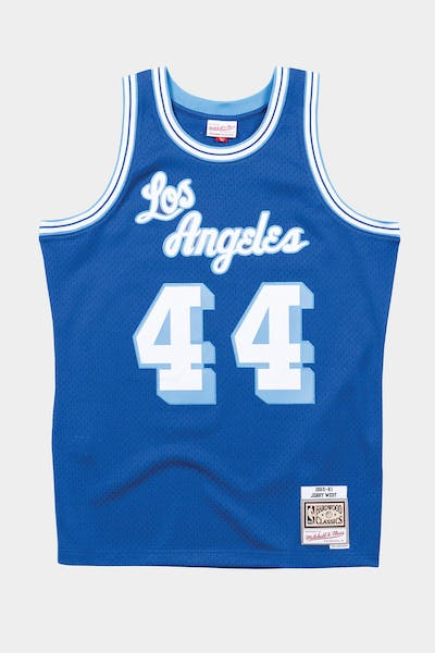 Mitchell & Ness Los Angeles Lakers Jerry West '60-'61 #44 Swingman Jersey Royal