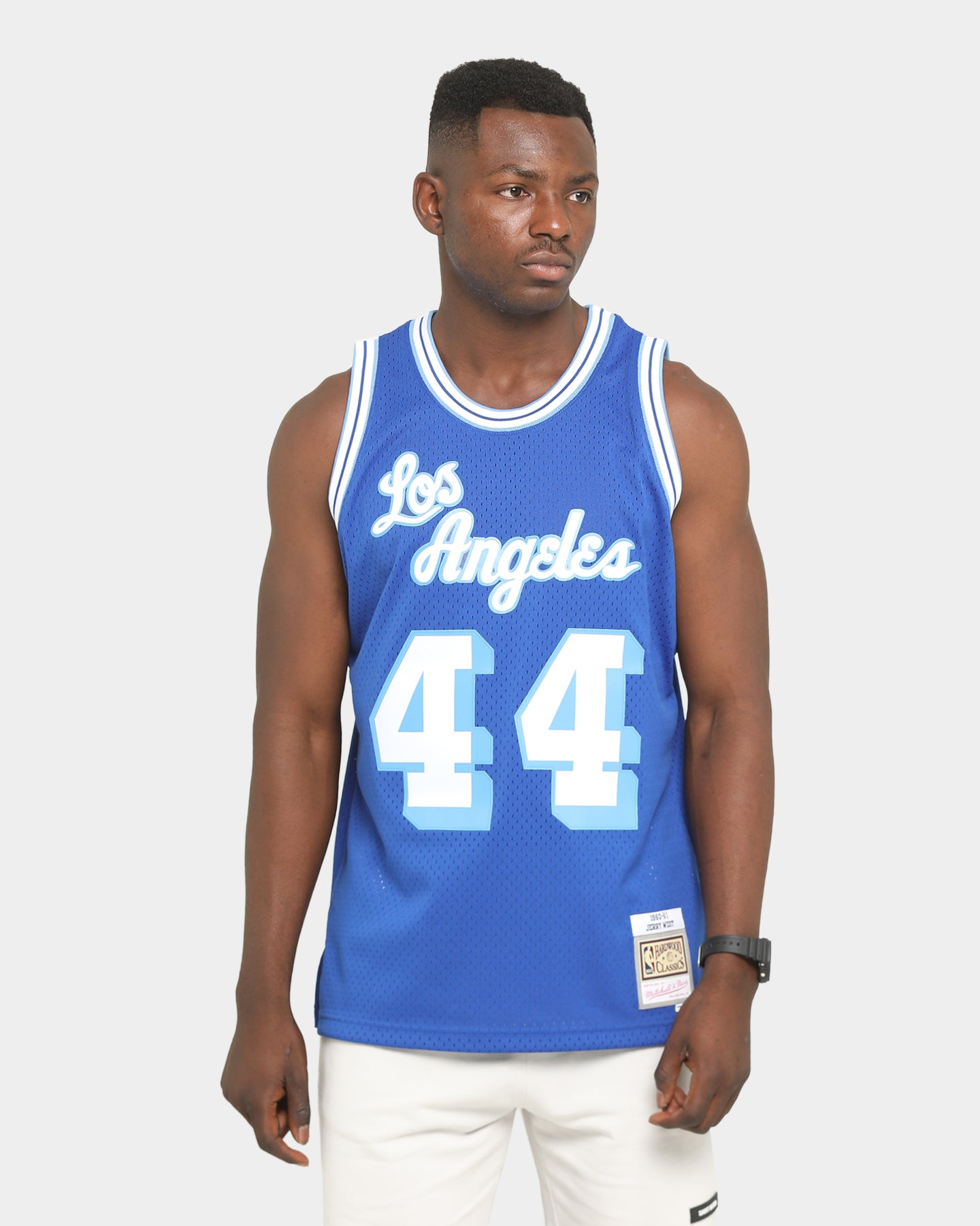 Los Angeles Lakers Vintage Jerry West Champion Basketball Jersey