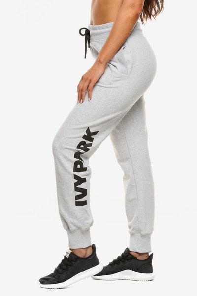 Ivy Park Logo Jogger Light Grey