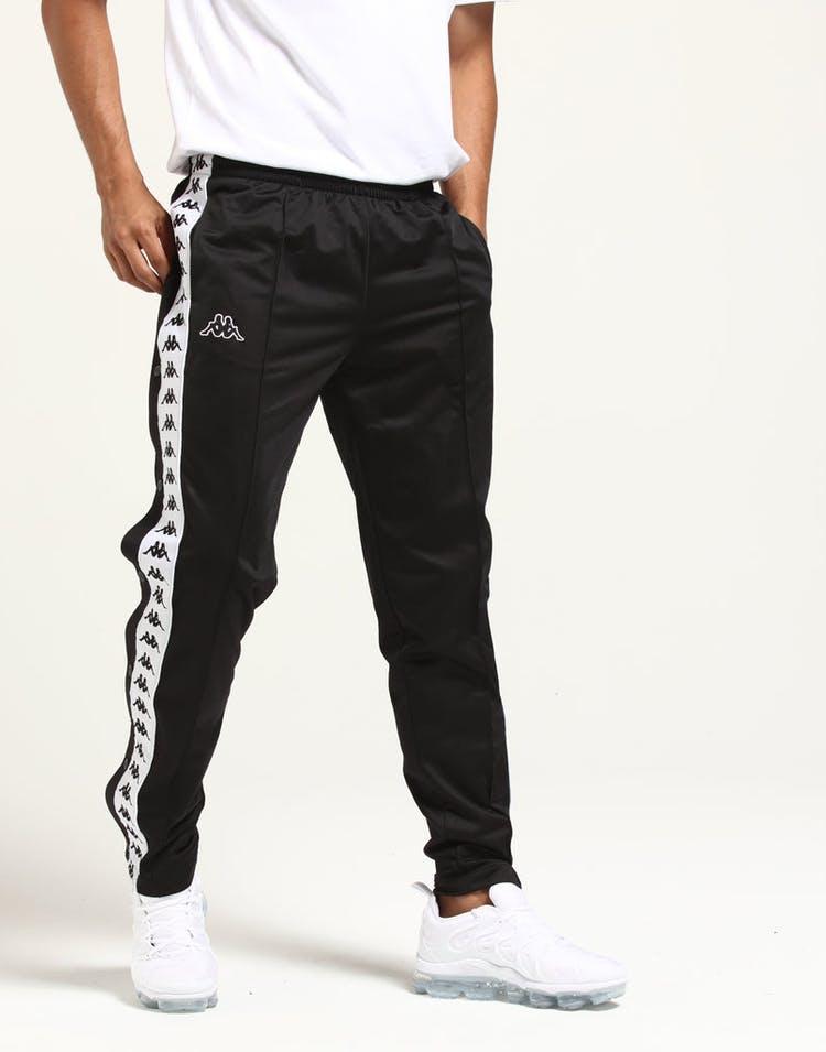 1ac1aee5 Kappa 222 Banda Astoria Slim Pant Black Striped Track Pant Stripe ...