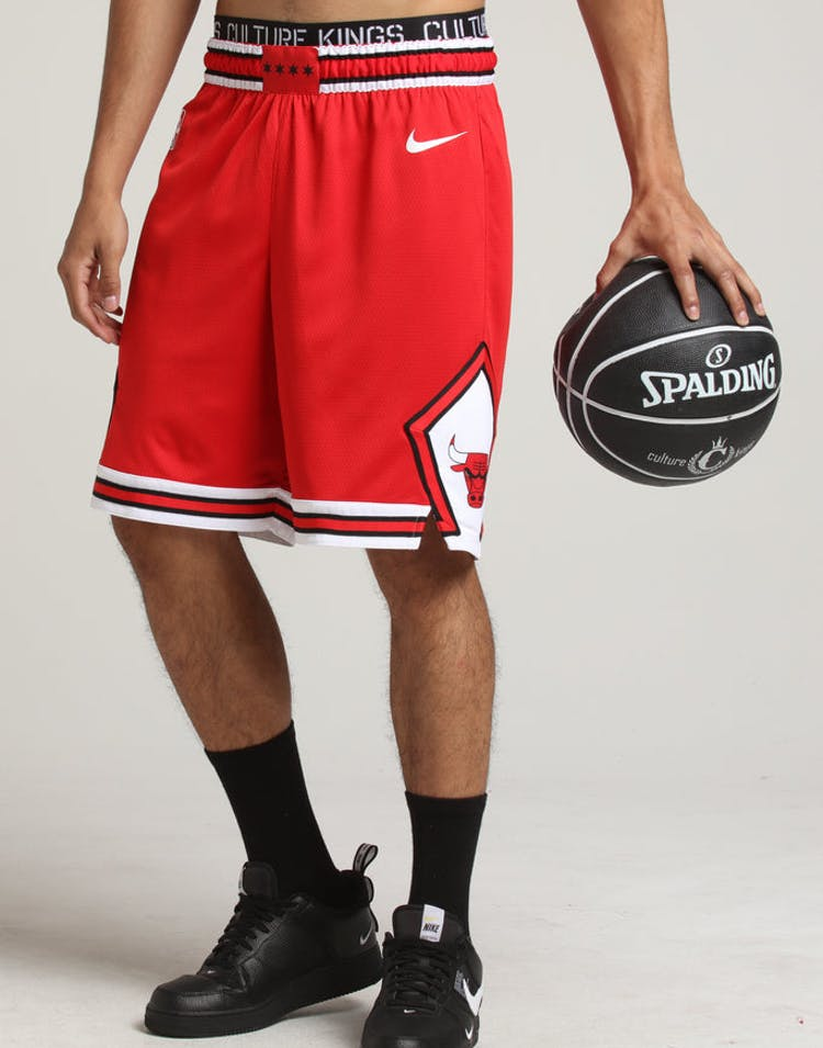 new styles 298c8 6035e Chicago Bulls Nike Icon Edition Swingman Shorts Red/White