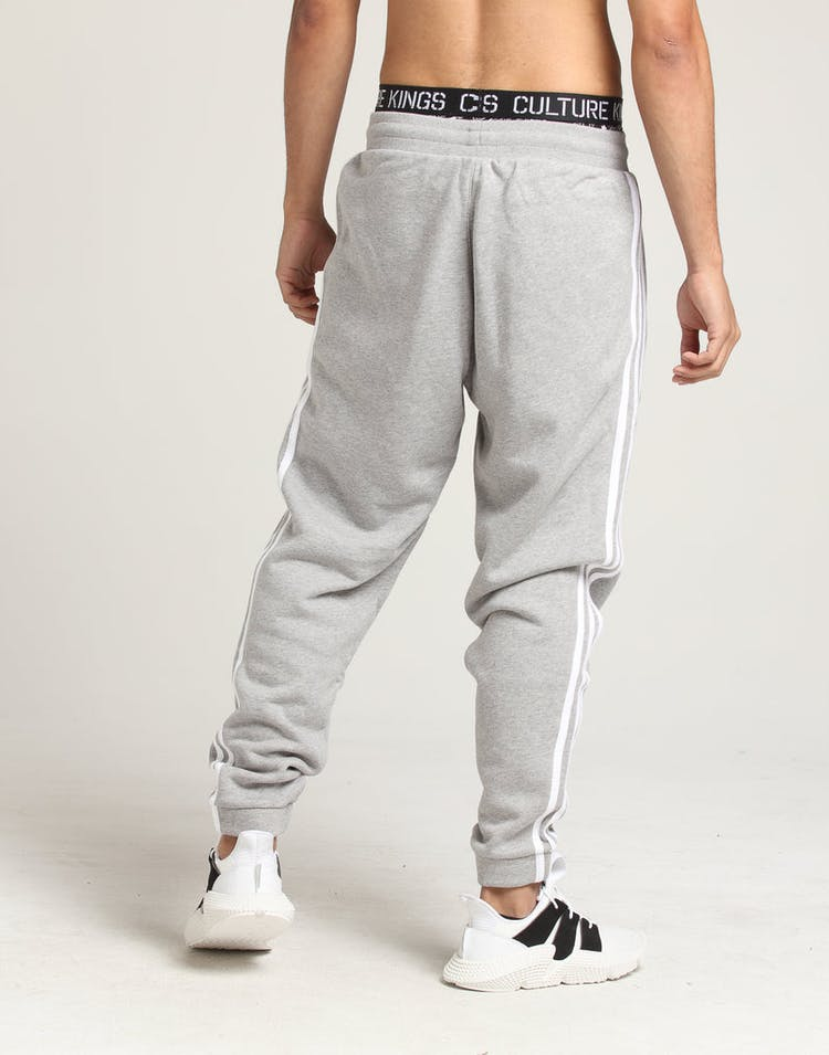 Adidas 3-Stripes Sweat Pants Grey Heather