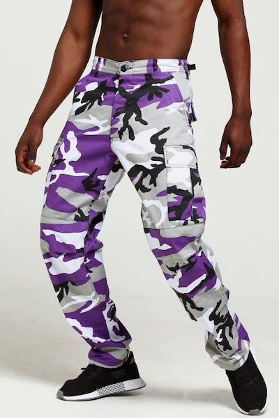 Rothco Tactical BDU Pant Violet Camo