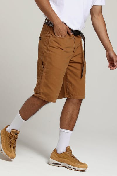 Dickies DX250 Short Rinsed Brown
