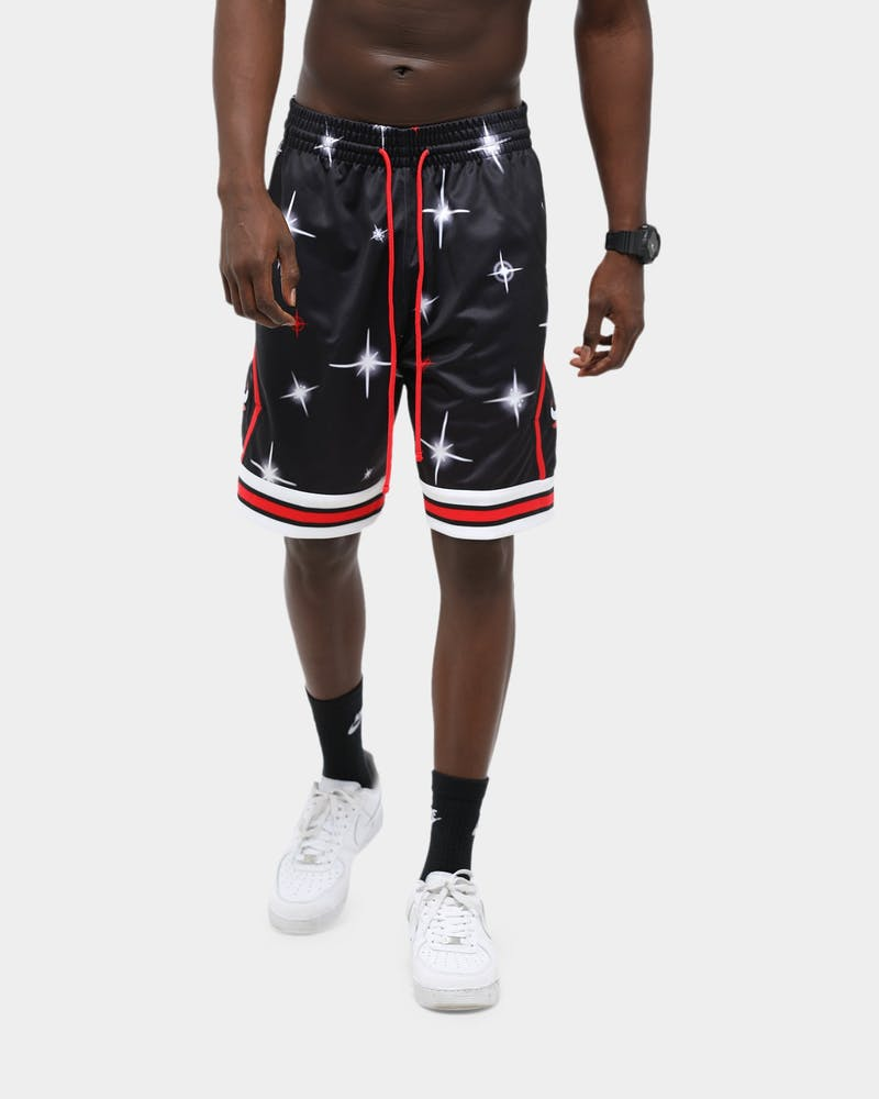 Mitchell & Ness Chicago Bulls Airbrush Swingman NBA Shorts Black