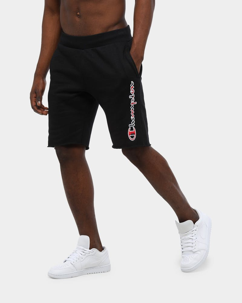 Champion Men's Reverse Weave Script Short Black