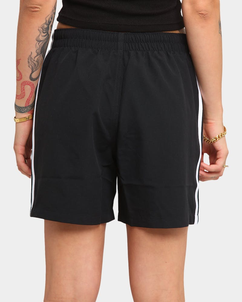Adidas 3 Stripe Swim Short Black