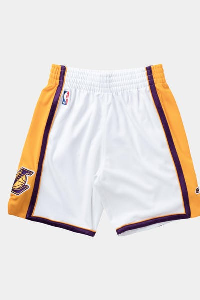 Mitchell & Ness Los Angeles Lakers Swingman Shorts White