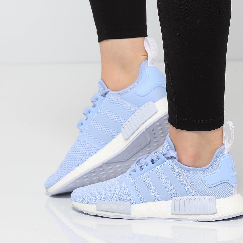 Adidas Women's NMD R1 Light Blue/White