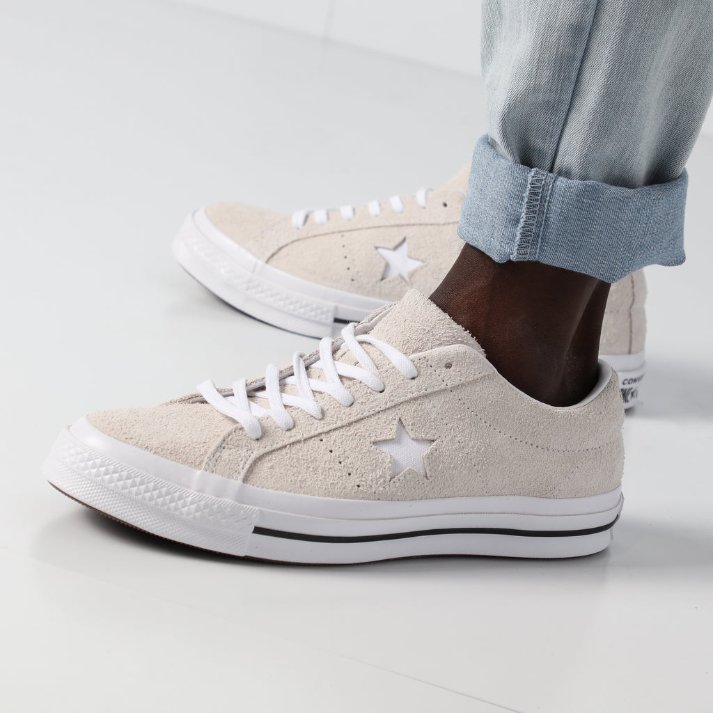 e338133a5f3 ... shoe c0676 1a076  spain converse one star vintage suede low white white  837cb 4d475