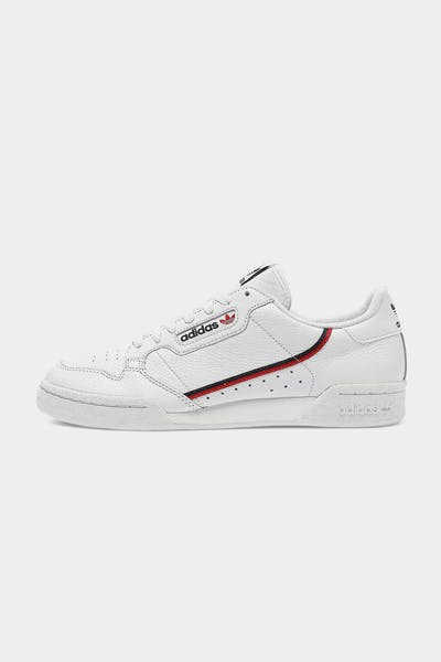 Adidas Continental 80 White/Navy/Red