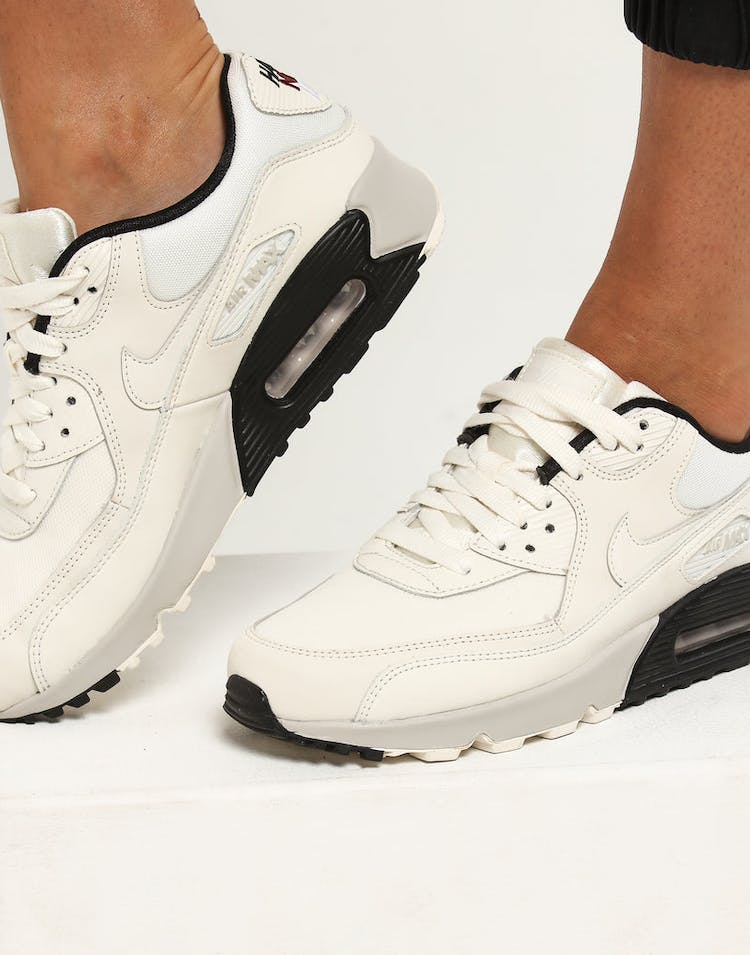 finest selection 042ab e83ab Nike Women's Air Max 90 SE Ivory/Ivory/Black