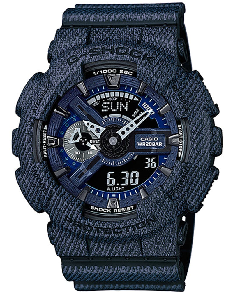 Ga110dc - Denim Design Indigo