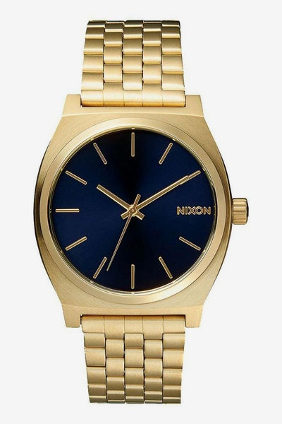 Nixon Time Teller Gold/Navy