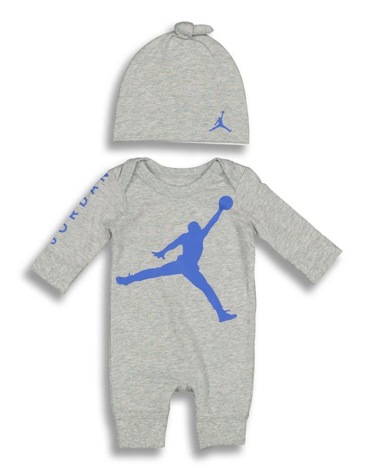 649dd650a Nike Jordan Brand Wrap Jumbo Jumpman Coverall Grey/Blue – Culture ...