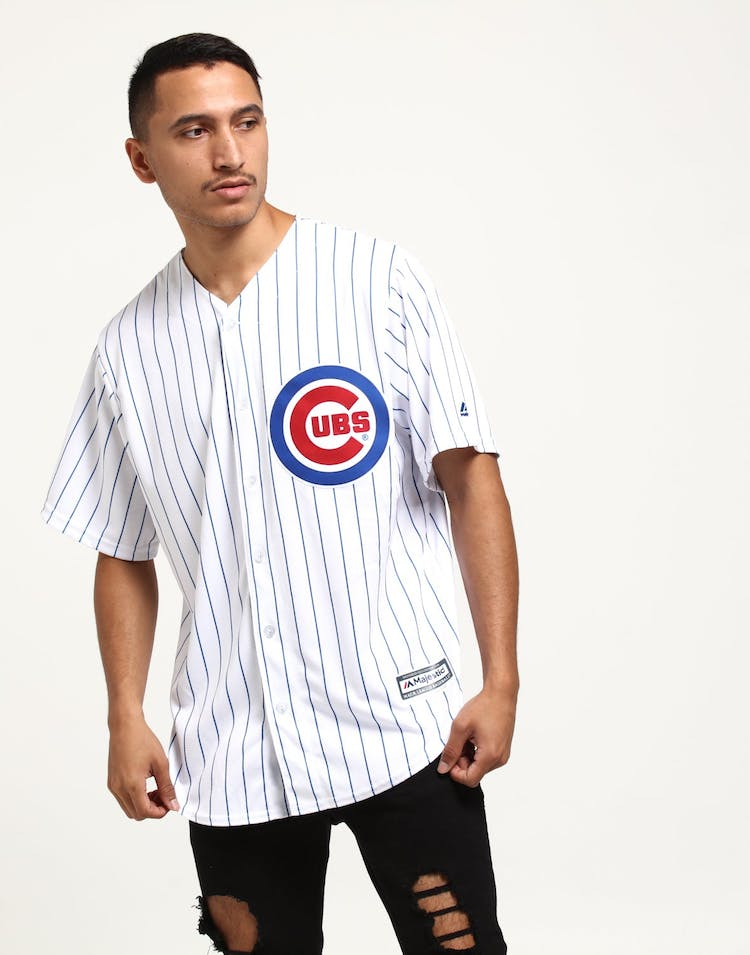 Majestic Athletic Chicago Cubs Home Cool Base Jersey White/Royal