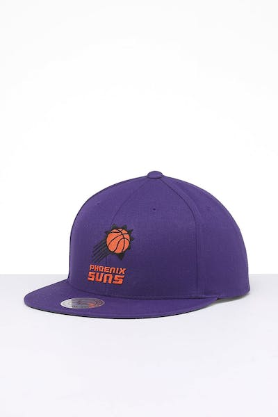 Mitchell & Ness Phoenix Suns Retro Crown Throwback Snapback Purple