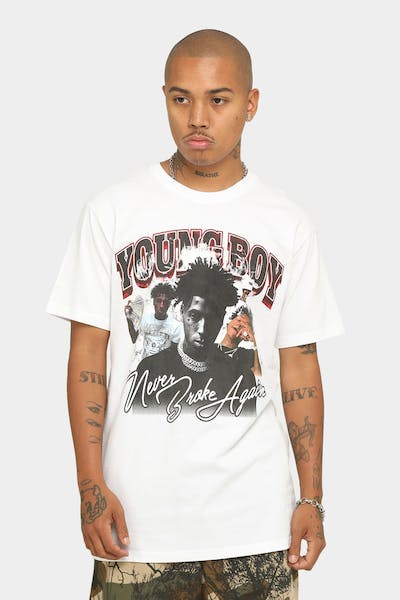 NBA Youngboy YoungBoy T-Shirt White