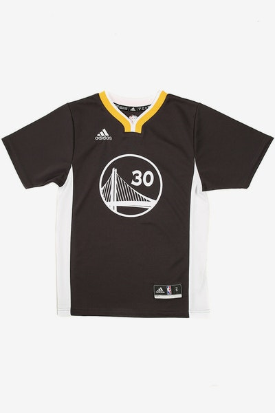 Adidas Warriors Alternate Youth Jersey Curry 30 Black