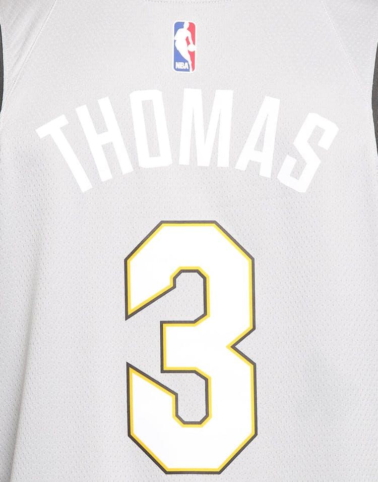 premium selection 88da1 56762 Nike Cleveland Cavaliers #3 Isaiah Thomas City Edition Swingman Jersey  Silver