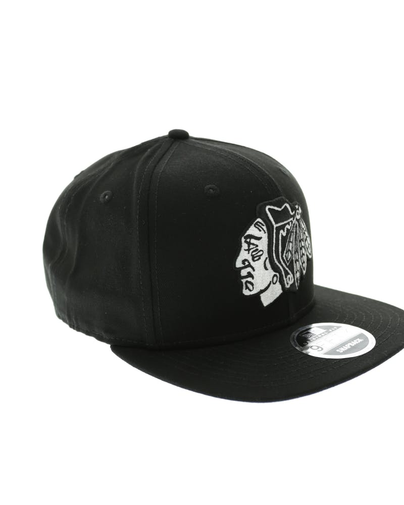 Blackhawks Chi Town of Black/white
