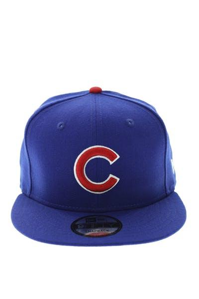 898e9da08 New Era Cubs Logo Snapback Royal ...