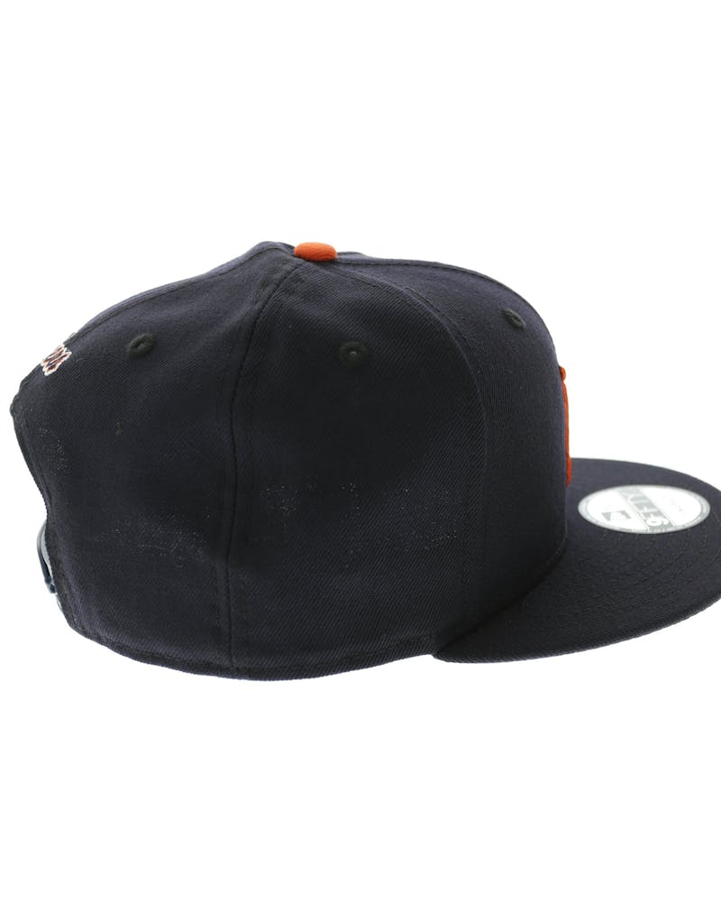 Tigers Logo Snapback Navy/orange