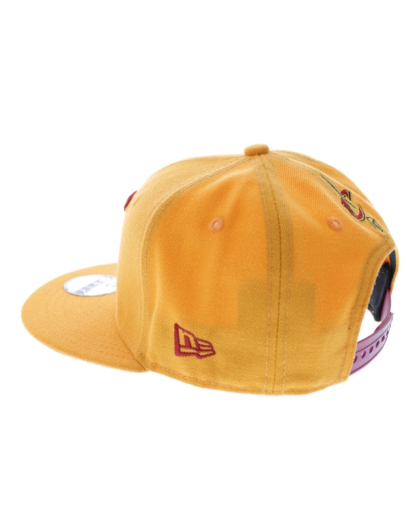 Youth Cavaliers Snapback Gold/cardinal