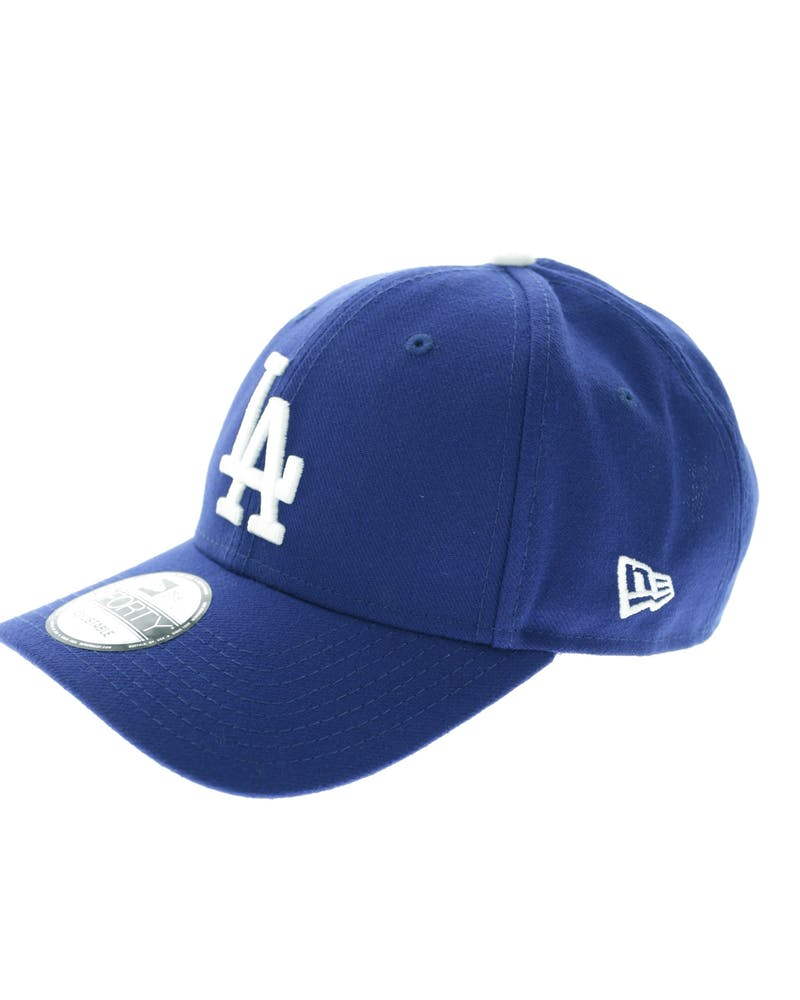 New Era Dodgers 9FORTY Logo Snapback Royal/white