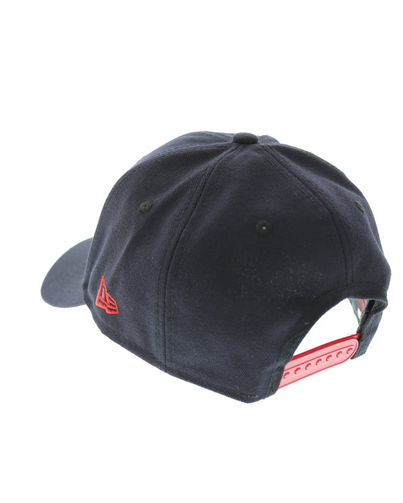 New Era Red Sox 9FORTY Logo Snapback Navy/scarlet