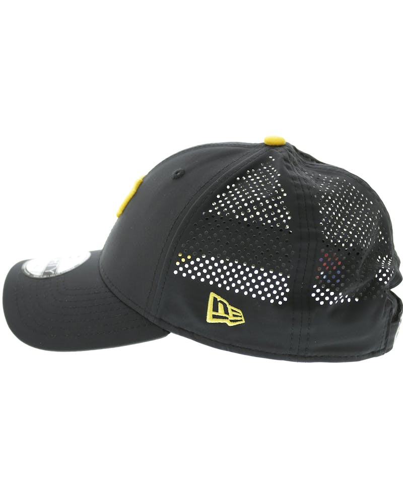 New Era Pirates Perf 9FORTY Velcro Back Black/yellow