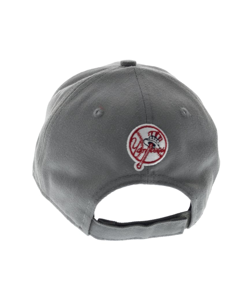 New Era Yankees Storm Velcroback Grey