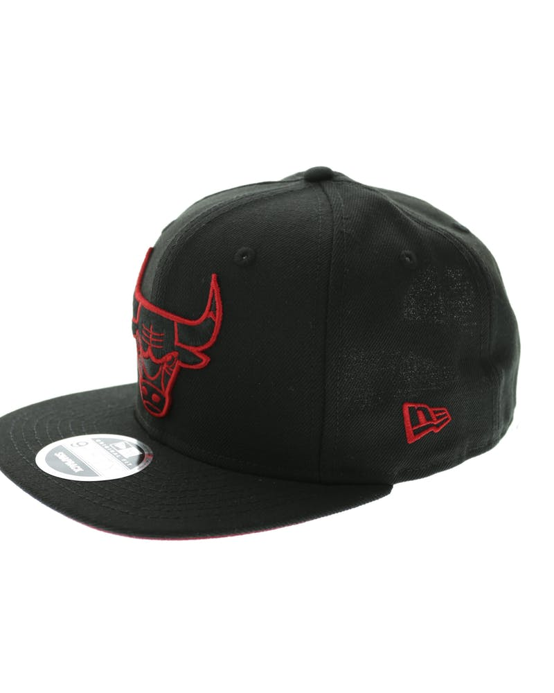 Bulls Team Pop Original Fit Black/red