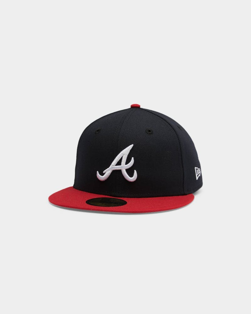 New Era Atlanta Braves 59FIFTY AC Fitted Navy