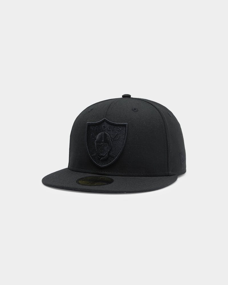New Era Raiders 59FIFTY NFL Fitted Black/Black
