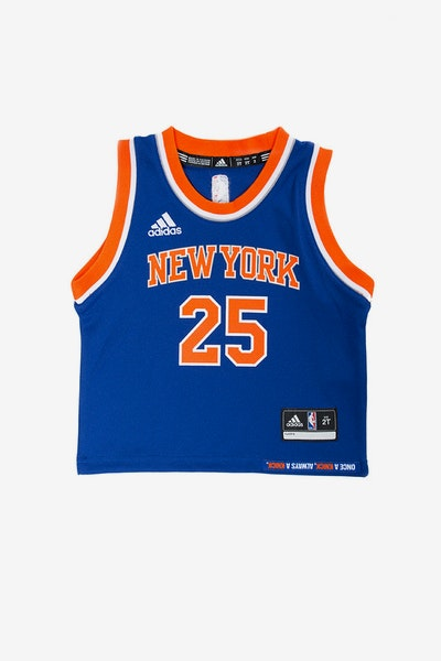 Adidas Toddler Derrick Rose New York Knicks Jersey Blue