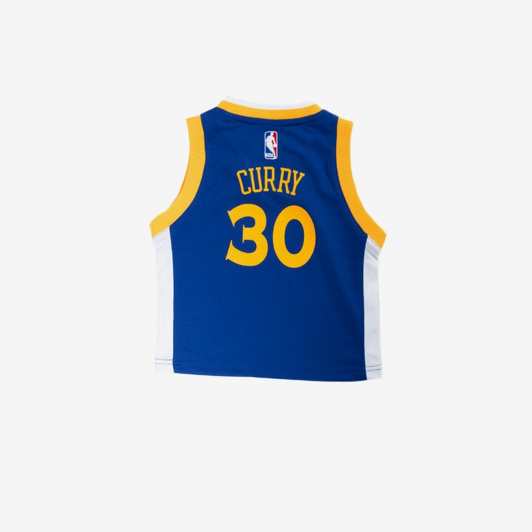 Adidas Toddler Stephen Curry Golden State Warriors Jersey Blue