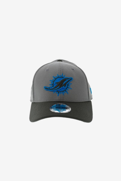 New Era Miami Dolphins Neon Pop 3930 Fitted Graphite
