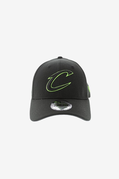 New Era Cleveland Cavaliers Neon Pop 3930 Fitted Black/Green
