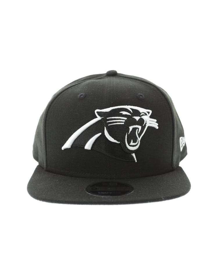 save off d4c96 a5b40 New Era Carolina Panthers 950 Original Fit Grey Undervisor Snapback Black